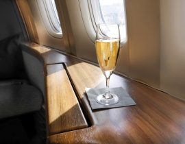 First class airline