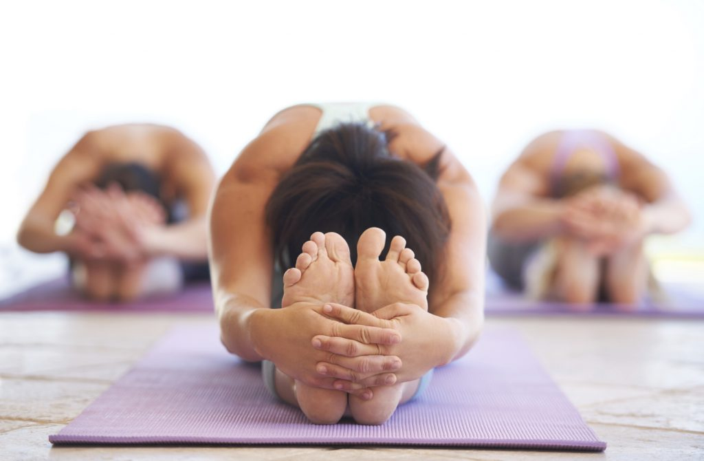 yoga loosens you up