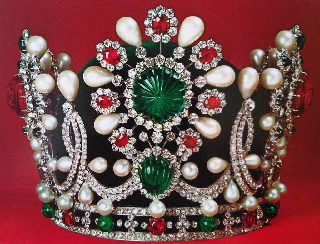 Crown jewels of Iran