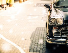 Vintage cars luxury life