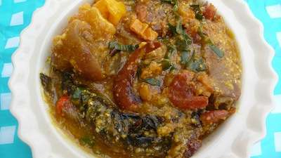 Edo corn soup