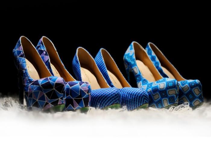 ankara shoes